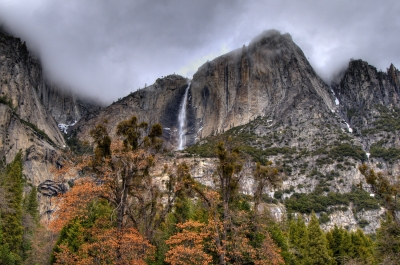 Winter At Yosemite Falls