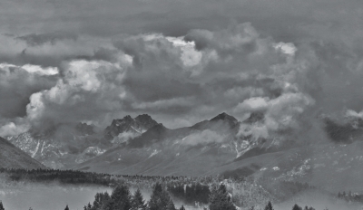 Morning Clouds On The Purcell Range