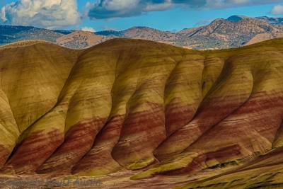 Muscular Painted Hills