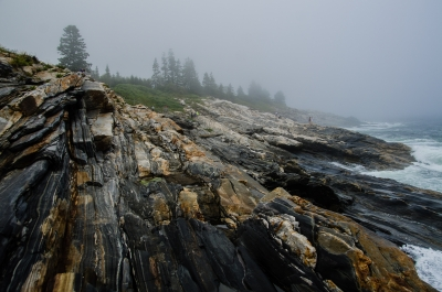 Pemaquid Lighthouse In The Fog