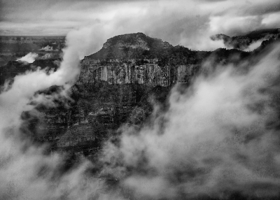 Clouds In The Canyon.
