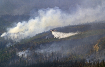Fighting Fire In Glacier National Park