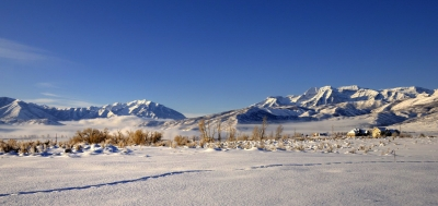 January Morning In Midway Utah