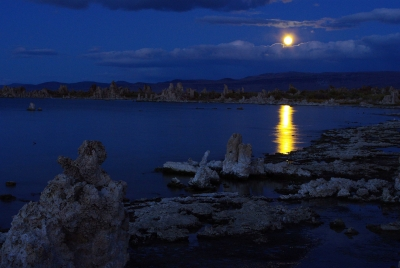 Moonrise Over Mono