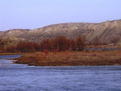 Missouri River Island