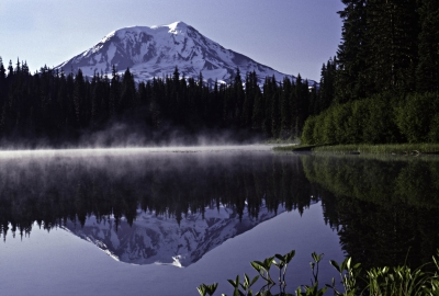 Olallie Lake At Dawn