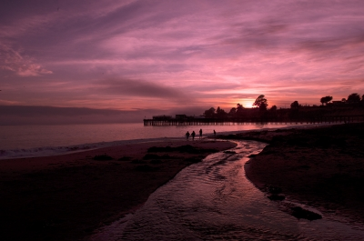 Capitola Beach Sunset