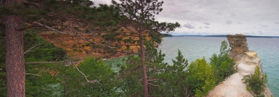 Miners Castle Panorama