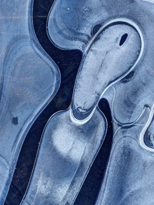 """the Scream"" Ice Abstract No.3"