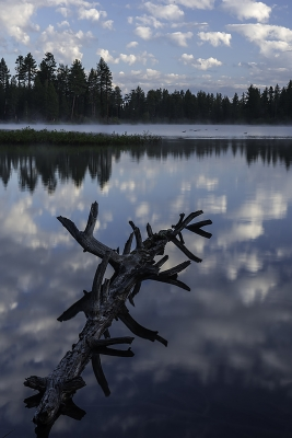 Manzanita Lake Reflections