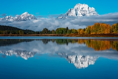 Early Autumn At Oxbow Bend