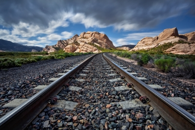 Mormon Rocks And Tracks Ii
