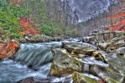 Colorful Rocky River