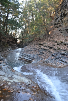 Downstream To Buttermilk Falls