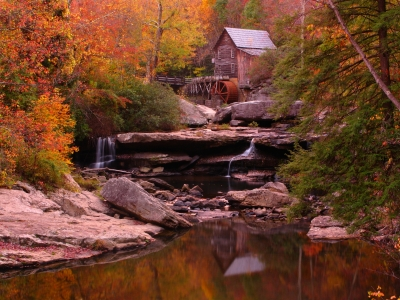 Old West Virginia Grist Mill