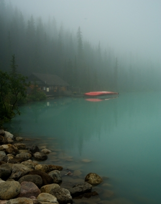 Early Morning At Lake Louise