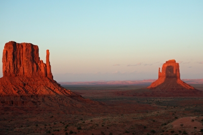 Mitten Buttes Shadow Play