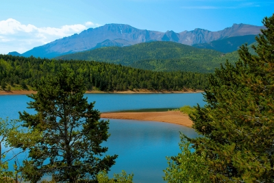 A Tribute To John Denver: Crystal Creek Reservoir And Pikes Peak