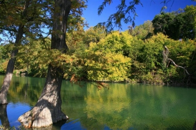 Fall On The Guadalupe River