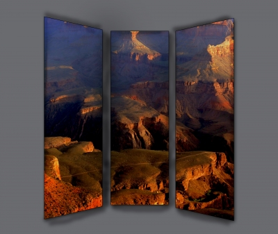 Grand Canyon Sunrise Triptych