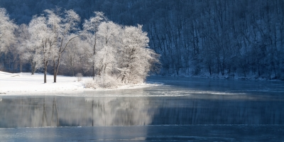 Winter On The Mon River
