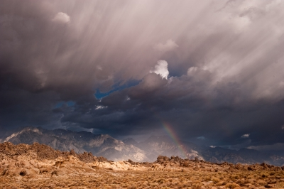 Alabama Hills Clouds