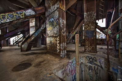Upstairs In The Damen Silo's