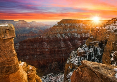 Grand Canyon Winter Sunrise