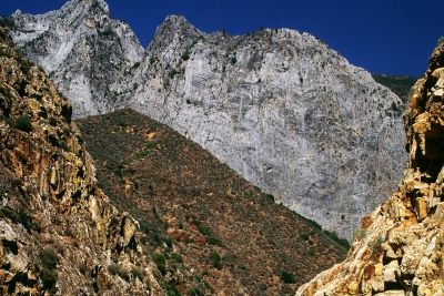 Multiple Layers In Kings Canyon Natl. Park