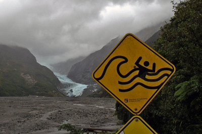 Glacier Warning