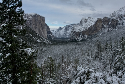 Winter Abates Of The Valley