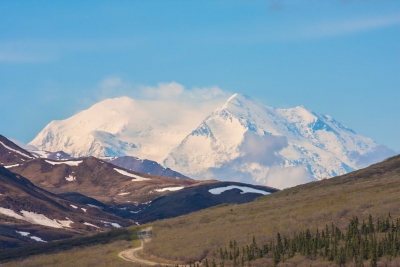 Mt. Mckinley On A Clear Day