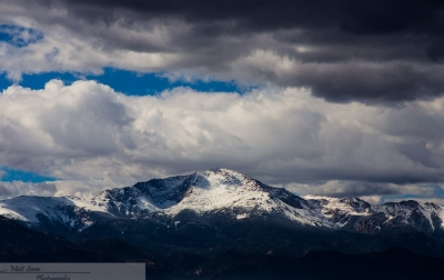 First Dusting On Pikes Peak