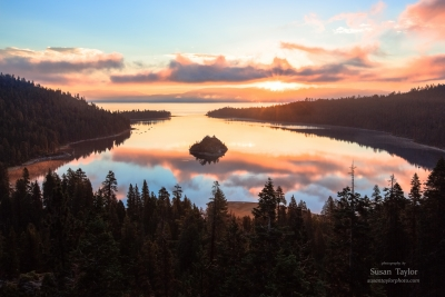 Emerald Bay Summer Sunrise