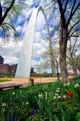Spring At The Arch