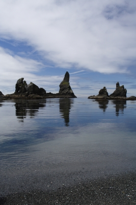 Haystack Rocks At Shishi Beach