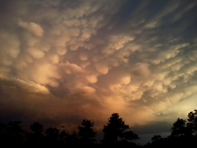Mammatus Sunset