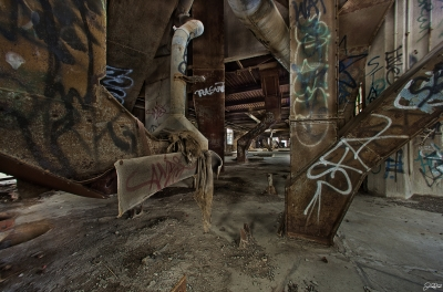 Damen Silo's Upper Level Main Room…