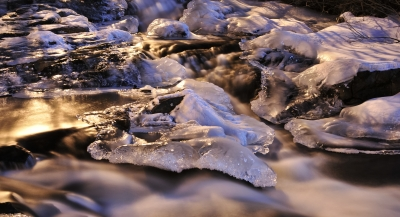 Snow, Ice And Water !