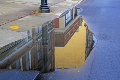 Reflection Outside Of 213