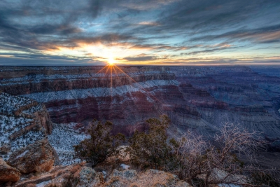 Hopi Point Sunstar