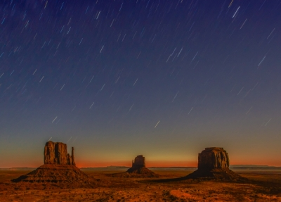 Monument Valley Pre-dawn Twilight