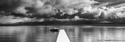 Tahoe Pier And Boats