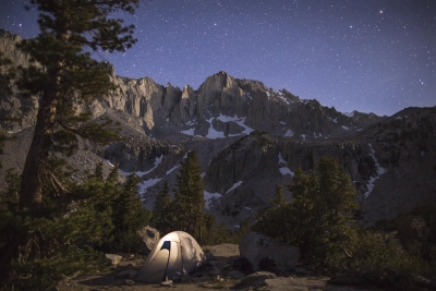Under The Stars In The Eastern Sierra