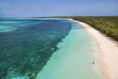 View Along Shoreline – Cat Island, Bahamas