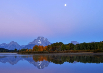 Tetons-just Before Dawn