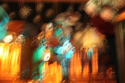 Drum Set Abstract