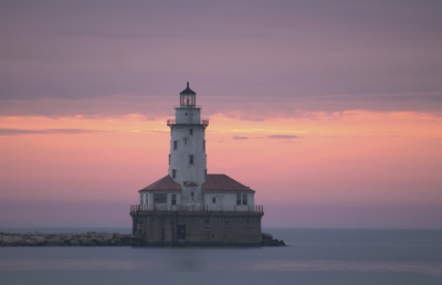Lighthouse At Navy Pier