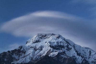 Magical Moment Of Annapurna