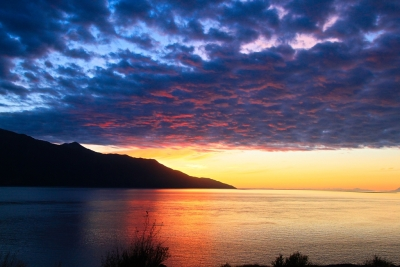 Seward Highway Sunset